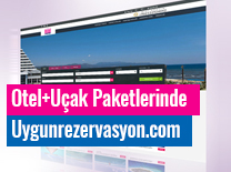 uygunrezervasyon.com for Hotel - Flight Packages